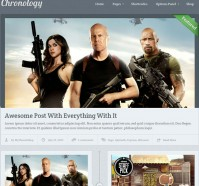 Chronology WordPress Theme by MyThemeShop