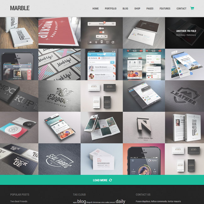 Marble Creative WordPress Theme