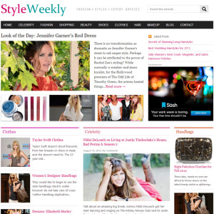 StyleWeekly – High Quality Theme for Magazine