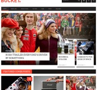 Bucket – Magazine WordPress Theme
