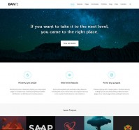 Dante WordPress Theme for Corporate Website