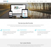 Emulate WordPress Theme for Business Sites