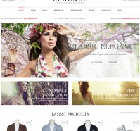 Legenda – eCommerce WordPress Theme