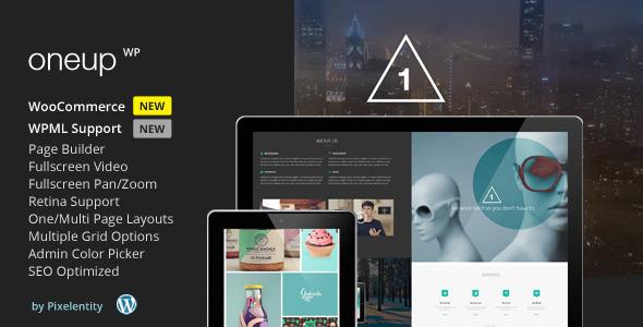 Oneup WordPress Theme