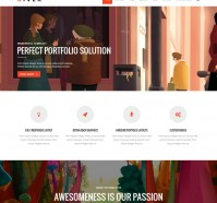 River WordPress Theme with Retina Ready