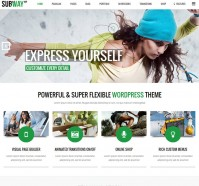 Subway Multipurpose WordPress Theme