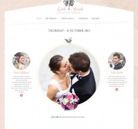 The Wedding Day Responsive WordPress Theme