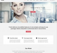 Twish Multipurpose WordPress Theme