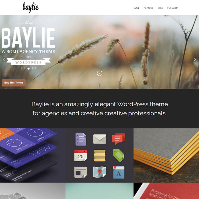 Baylie WordPress Theme by ThemeTrust