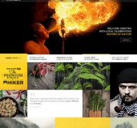 Hiker Photography WordPress Theme