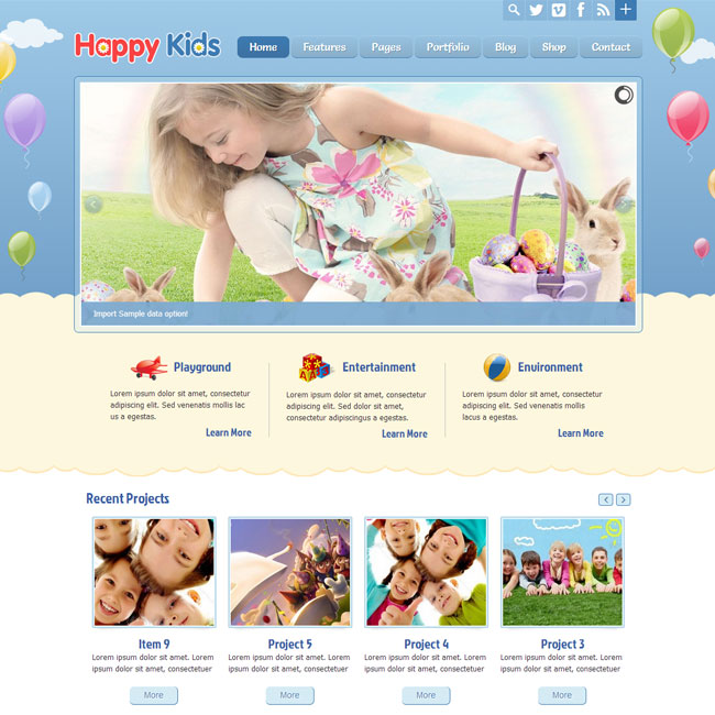 happykids-wordpress-theme