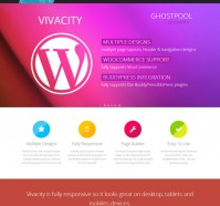 Vivacity Multi-purpose WordPress Theme