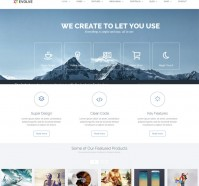 Evolve WordPress Theme for Corporation Websites