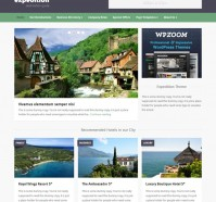 Expedition WordPress Theme for Travel Directory