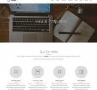Omega Responsive WordPress Theme
