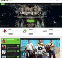 GamesZone WordPress Theme
