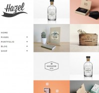 Hazel Multi-idea WordPress Theme