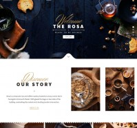 ROSA WordPress Theme For Restaurants