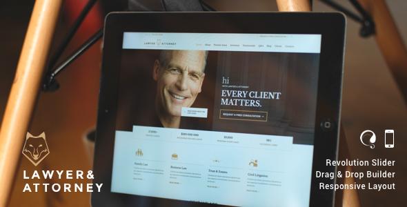 lawyers attorneys wordpress theme review