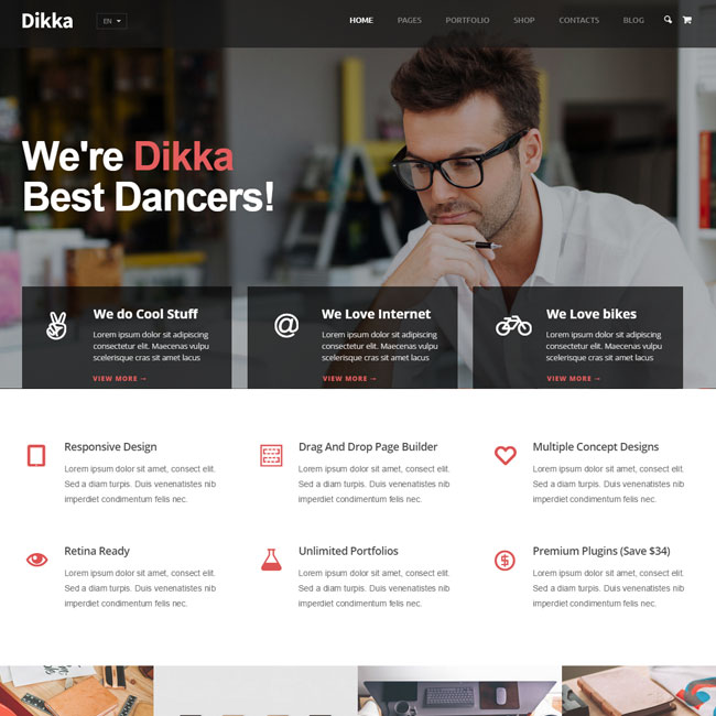 Dikka Multi-Concept WordPress Theme
