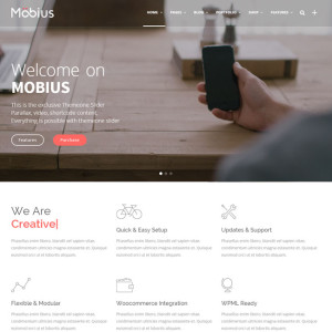 Mobius WordPress Multipurpose Theme