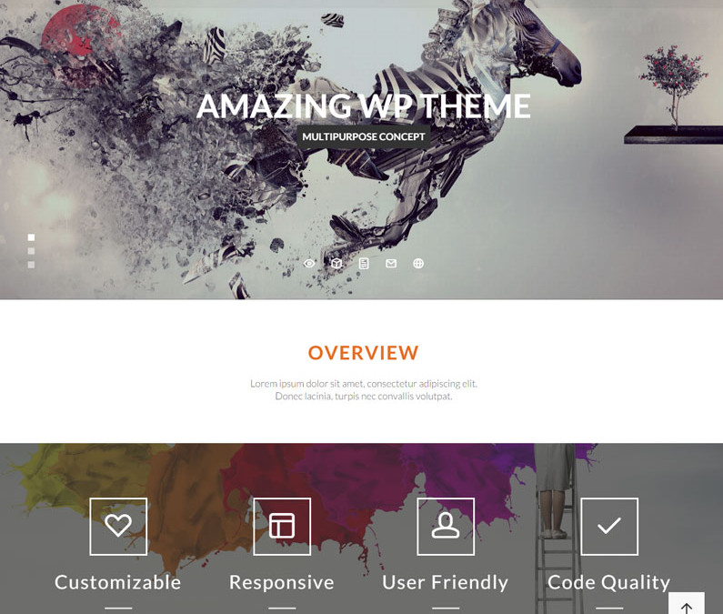 Maya – Smart and Powerful WordPress Theme