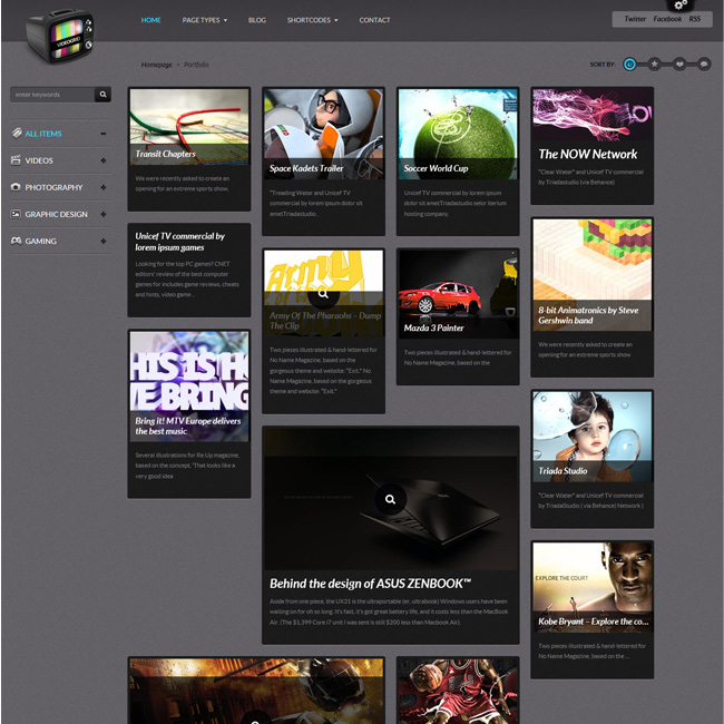 VideoGrid – Premium Multimedia WordPress Theme
