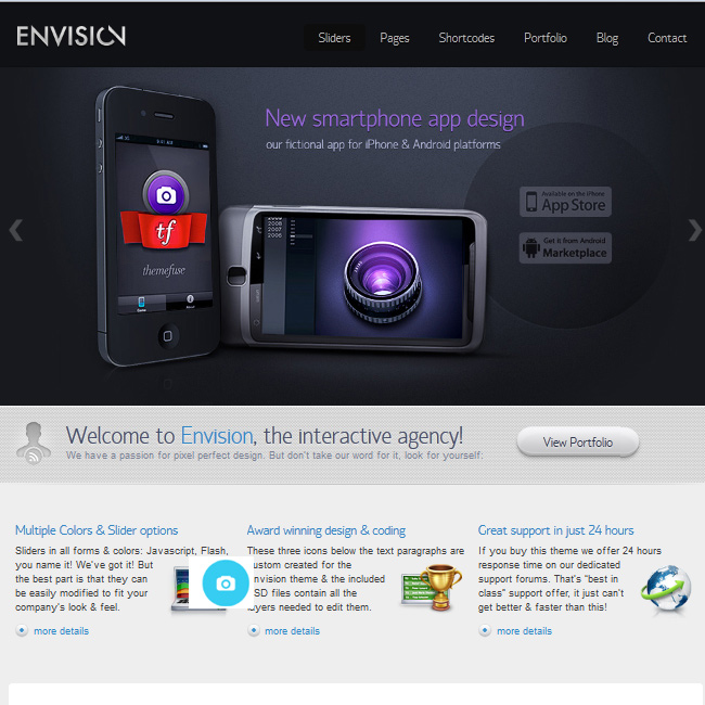 Envision WordPress Theme by ThemeFuse