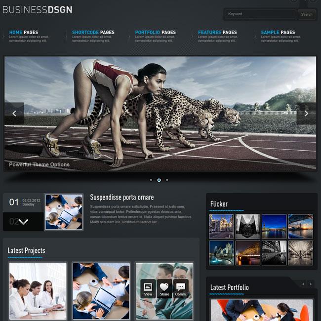 Business Design – Powerful WordPress Theme