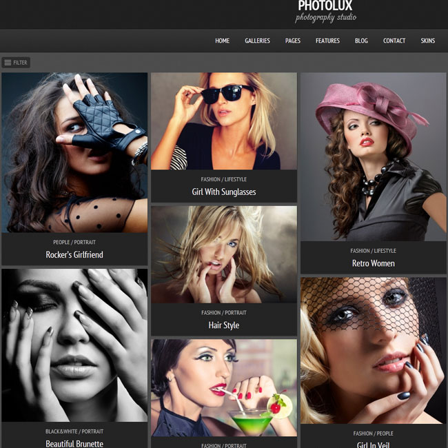 Photolux WordPress Theme