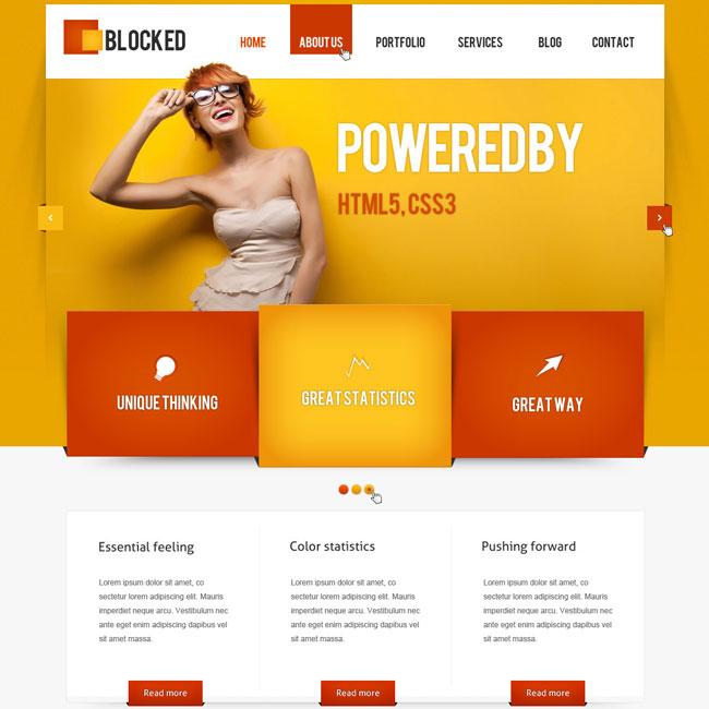 Blocked - Responsive WordPress Theme