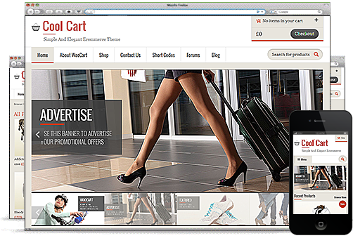 CoolCart WordPress Theme