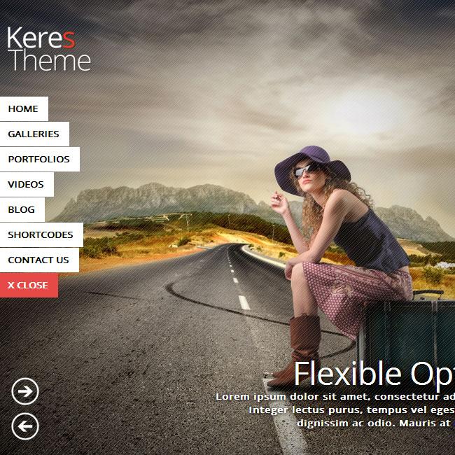 Keres WordPress Theme for Photography Websites