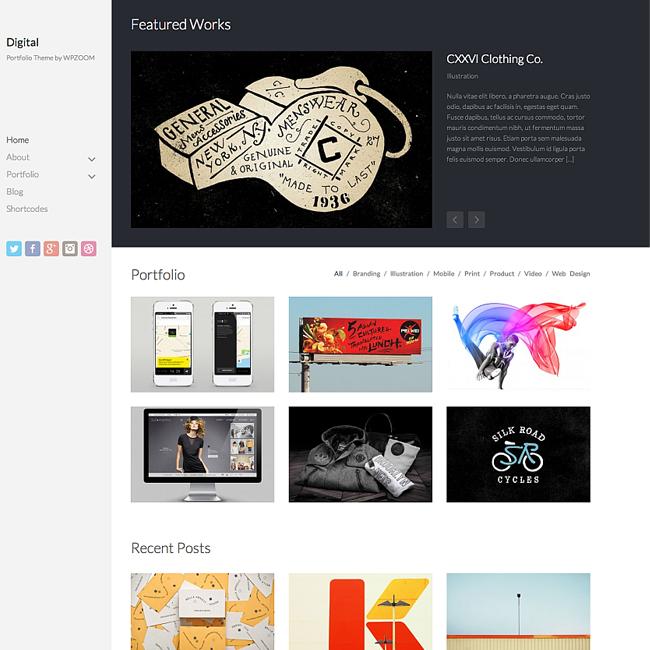 Digital WordPress Theme by WPZoom
