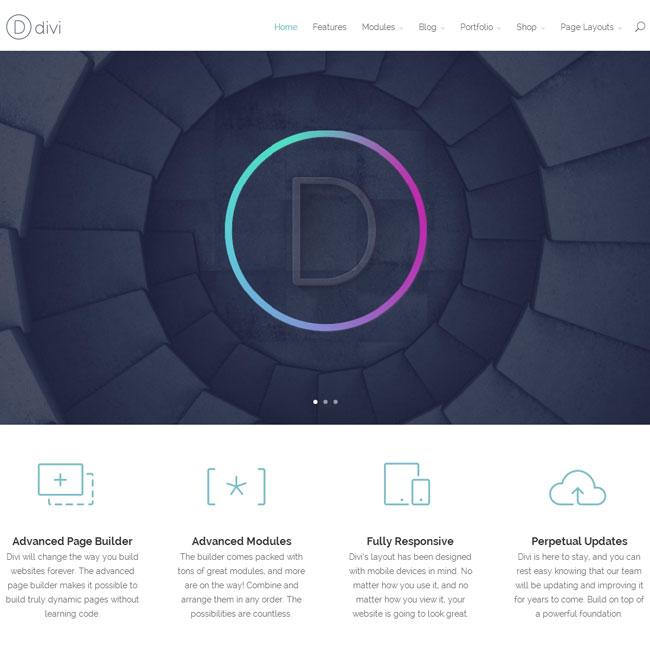 Divi WordPress Theme 2.0 from Elegant Themes