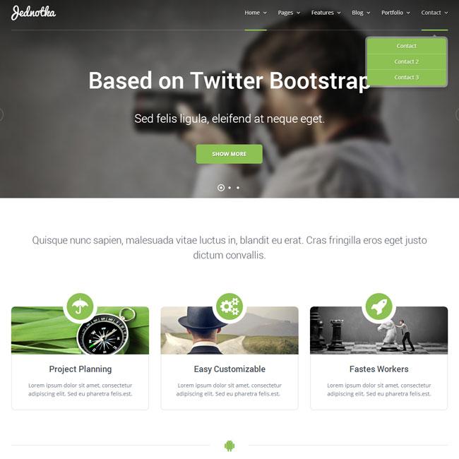 Jednotka – Multipurpose WordPress Theme