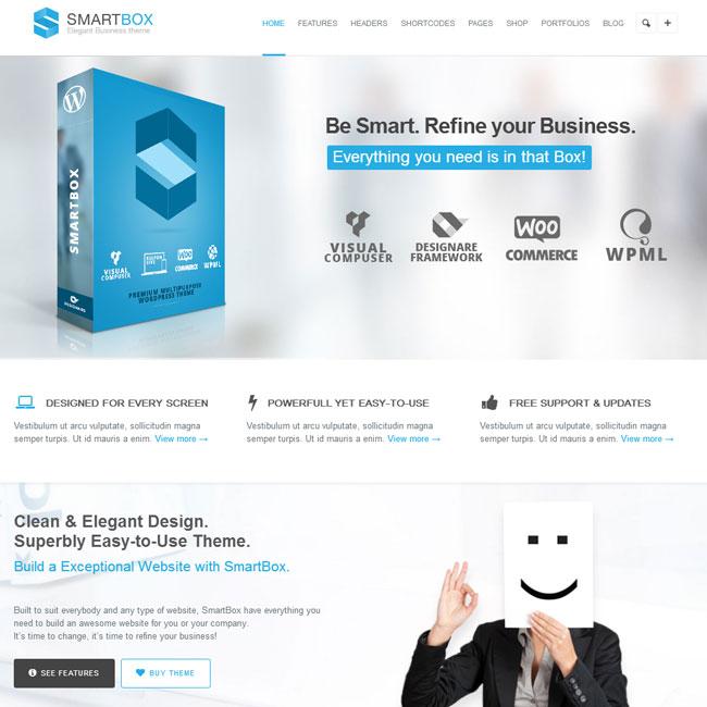 SmartBox Multipurose WordPress Theme