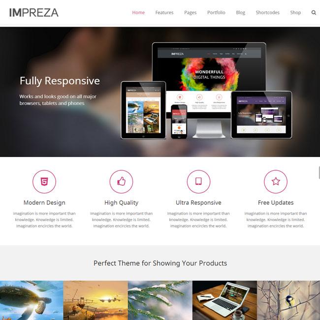 Impreza – Responsive WordPress Theme