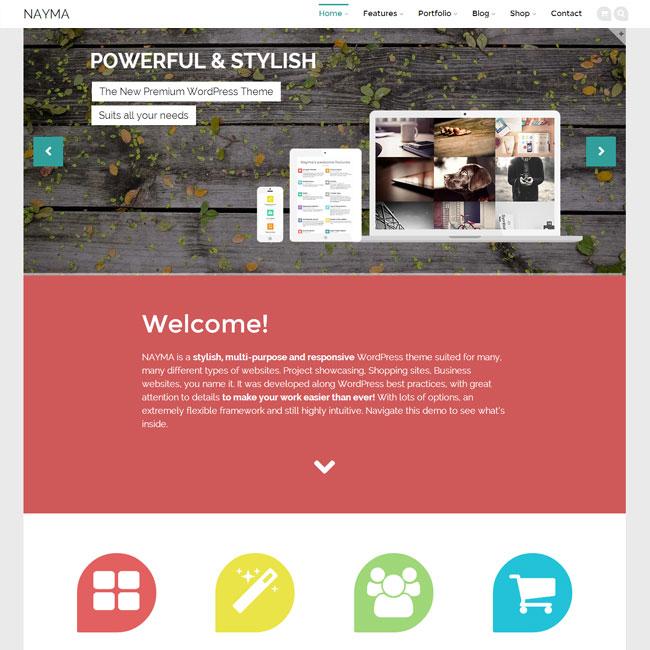 Nayma Multi-Purpose WordPress Theme
