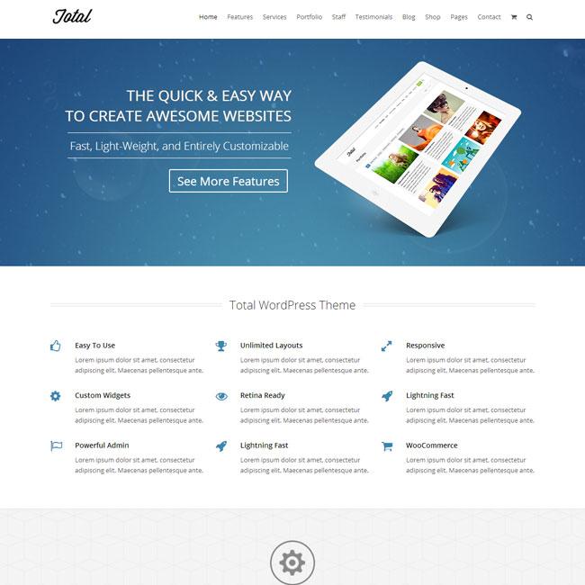 Total – Complete Multipurpose WordPress Theme