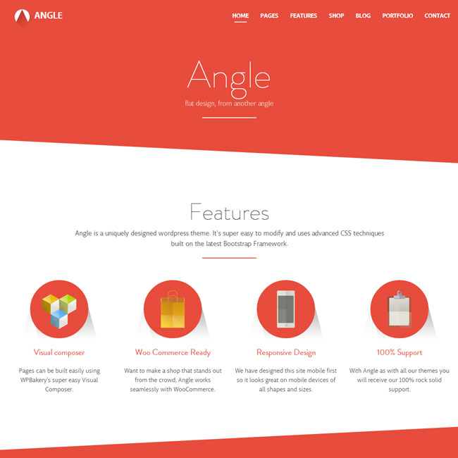 Angle MultiPurpose WordPress Theme