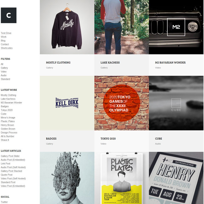 Crush WordPress Theme for Robust Portfolios