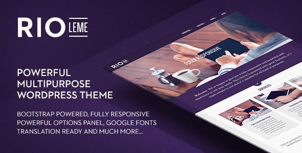 RioLeme WordPress Theme