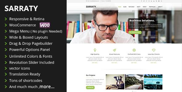 sarraty-wordpress-theme-review