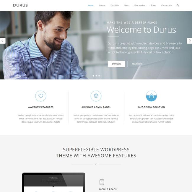 Durus WordPress theme