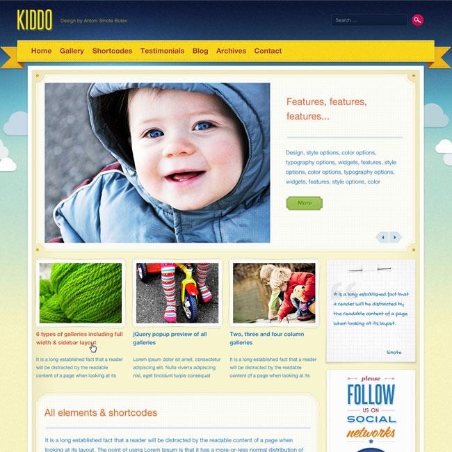 kiddo-wordpress-theme