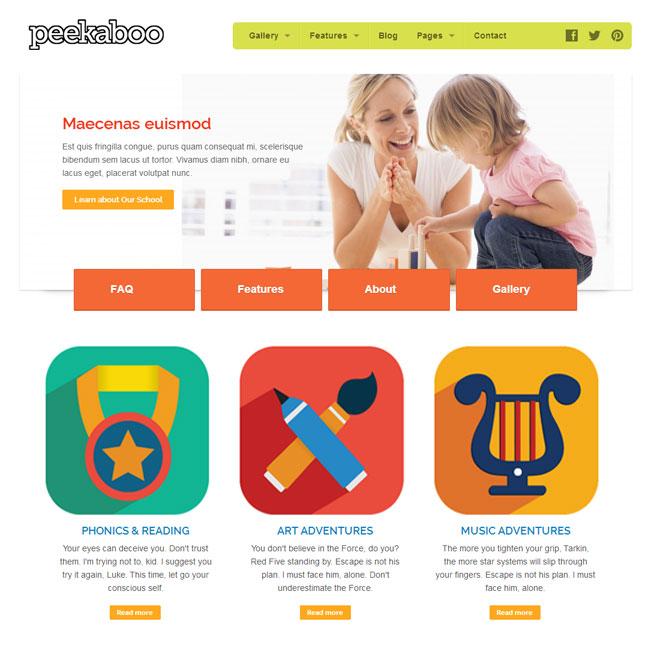 peekaboo-wordpress-theme