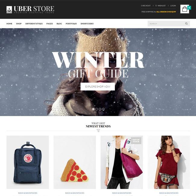 UberStore WordPress Theme