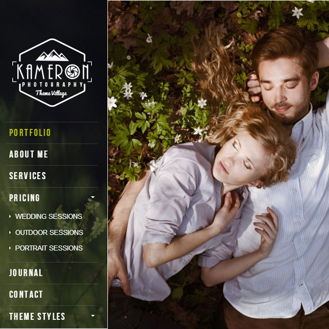 Kameron – Photography Portfolio WordPress Theme