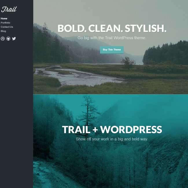 Trail WordPress Theme